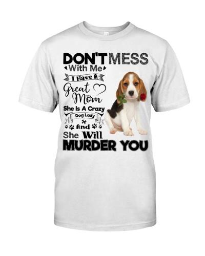 dog mom crazy beagle