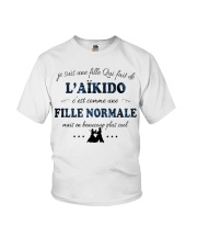 Fille Normale - L'aïkido Youth T-Shirt thumbnail