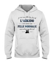 Fille Normale - L'aïkido Hooded Sweatshirt front