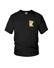 Minnesota USA Flag fishing PT Youth T-Shirt thumbnail