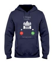 L'orgue m'appelle 0000 Hooded Sweatshirt front