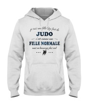 Fille Normale - Judo Hooded Sweatshirt front