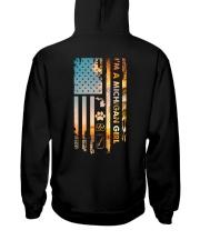 Michigan USA Flag PT 19 Hooded Sweatshirt back