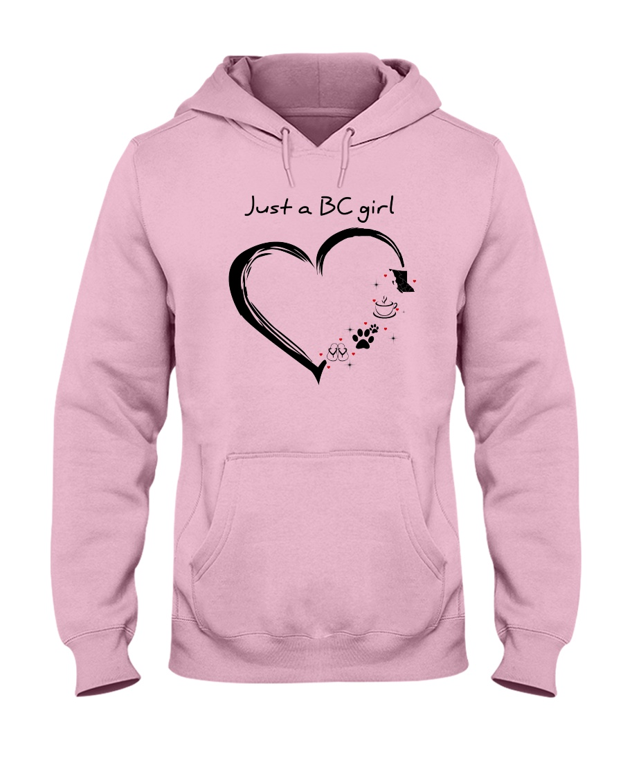 Just a BC girl PT Hooded Sweatshirt
