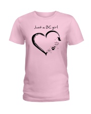 Just a BC girl PT Ladies T-Shirt tile
