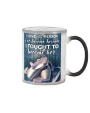 I Love The Person - Ballet Color Changing Mug thumbnail