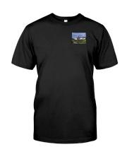 Colorado USA Flag mountain PT Classic T-Shirt thumbnail