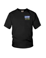 Colorado USA Flag mountain PT Youth T-Shirt thumbnail