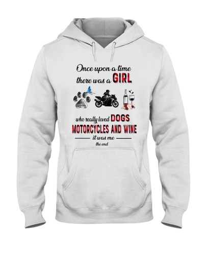 Motorcycles upon time dogs wine