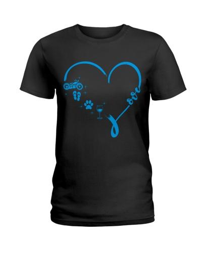 Custom blue Heart Love EN