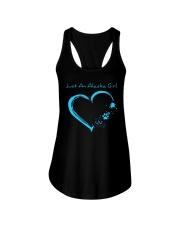 Alaska Blue Heart PT  Ladies Flowy Tank thumbnail