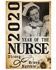 2020 year of the nurse 0038 11x17 Poster front