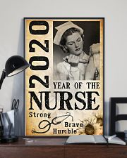 2020 year of the nurse 0038 11x17 Poster lifestyle-poster-2