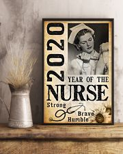 2020 year of the nurse 0038 11x17 Poster lifestyle-poster-3
