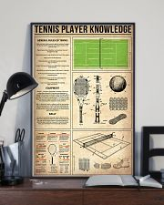 Tennis Player Knowledge 11x17 Poster lifestyle-poster-2