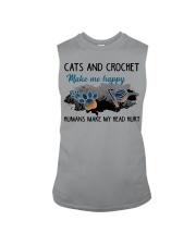 Cats And Crochet - Make Me happy PT Sleeveless Tee thumbnail