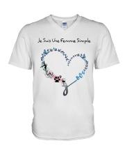 Femme Simple - Gymnastique V-Neck T-Shirt thumbnail