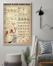 Hockey Player Knowledge 11x17 Poster lifestyle-poster-1