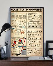 Hockey Player Knowledge 11x17 Poster lifestyle-poster-2