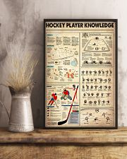 Hockey Player Knowledge 11x17 Poster lifestyle-poster-3