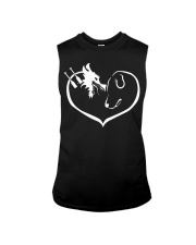 easily distracted by dragon boat and dog  Sleeveless Tee thumbnail