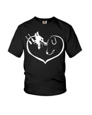 easily distracted by dragon boat and dog  Youth T-Shirt thumbnail