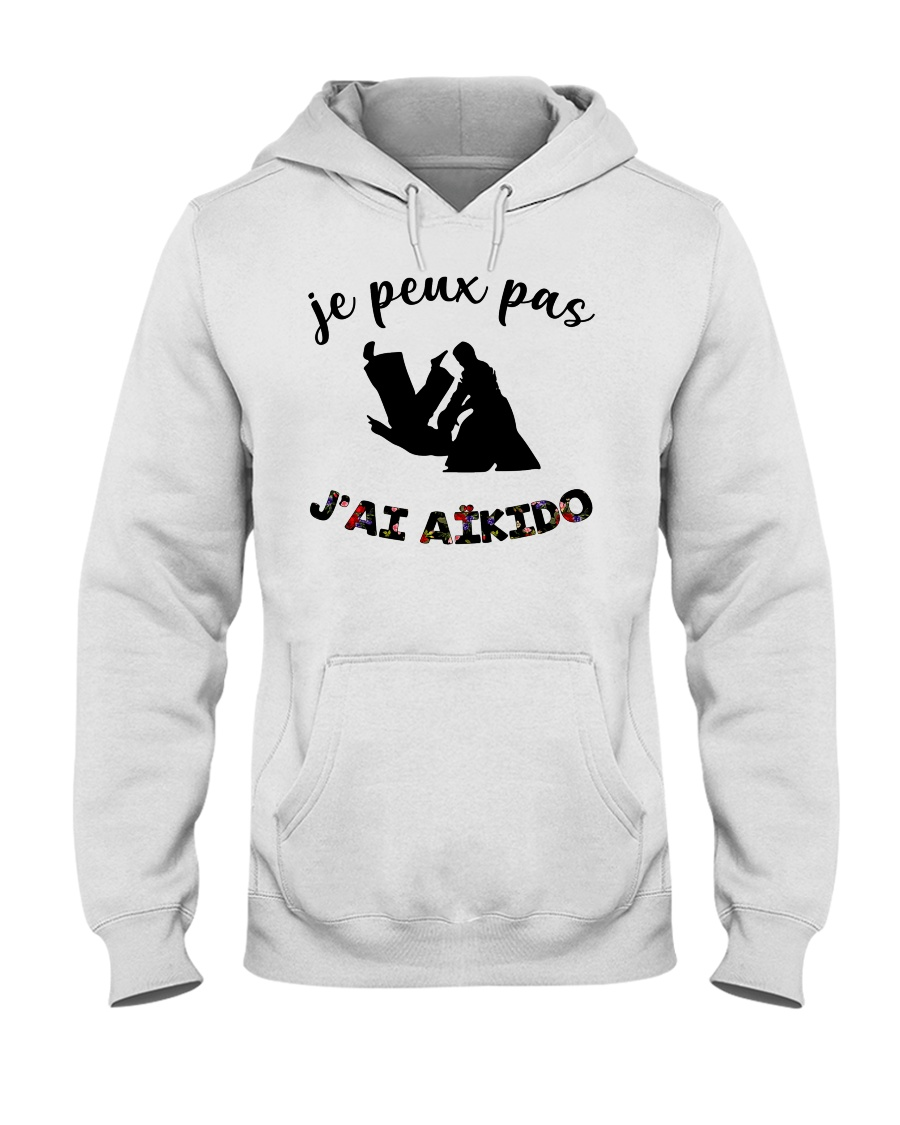 j'ai aikido Hooded Sweatshirt