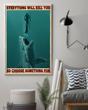 Everything Will Kill You - Spearfishing NB 11x17 Poster lifestyle-poster-1