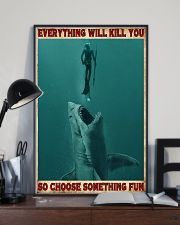 Everything Will Kill You - Spearfishing NB 11x17 Poster lifestyle-poster-2