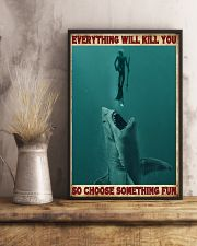 Everything Will Kill You - Spearfishing NB 11x17 Poster lifestyle-poster-3