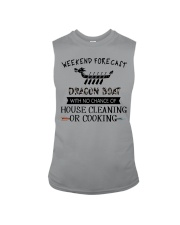 dragon boat-weekend forecast-cooking Sleeveless Tee thumbnail