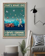 That's What I Do - I Dive I Drink Poster 0012 11x17 Poster lifestyle-poster-1