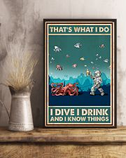 That's What I Do - I Dive I Drink Poster 0012 11x17 Poster lifestyle-poster-3