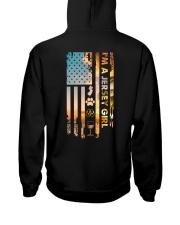 Jersey USA Flag PT  Hooded Sweatshirt back