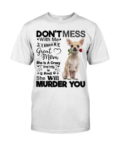dog mom crazy chihuahua 9997