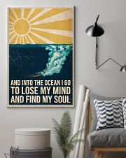 And Into the ocean I Go - Scuba Diving Poster 11x17 Poster lifestyle-poster-1