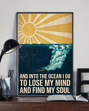 And Into the ocean I Go - Scuba Diving Poster 11x17 Poster lifestyle-poster-2