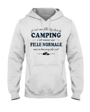 Fille Normale - Camping Hooded Sweatshirt front
