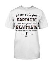Biathlète - Je ne Suis Pas Parfaite Classic T-Shirt thumbnail