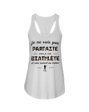 Biathlète - Je ne Suis Pas Parfaite Ladies Flowy Tank thumbnail