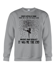 once upon a time - Music And Ballet Crewneck Sweatshirt thumbnail