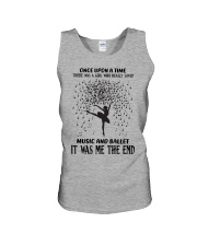 once upon a time - Music And Ballet Unisex Tank tile