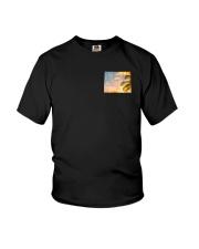 Wyoming USA Flag Youth T-Shirt thumbnail