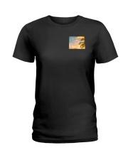 Wyoming USA Flag Ladies T-Shirt thumbnail