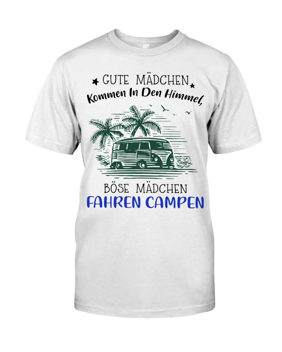 Camping - Gute Madchen Classic T-Shirt