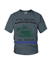 Camping - Gute Madchen Youth T-Shirt thumbnail