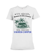 Camping - Gute Madchen Premium Fit Ladies Tee thumbnail