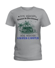 Camping - Gute Madchen Ladies T-Shirt thumbnail