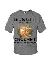 Life Is Better - Crochet Youth T-Shirt thumbnail