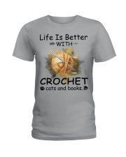 Life Is Better - Crochet Ladies T-Shirt thumbnail
